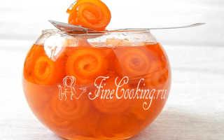 Варенье из апельсинов с кожурой в домашних условиях
