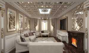 Дизайн интерьера загородного дома в классическом стиле: фото всех комнат