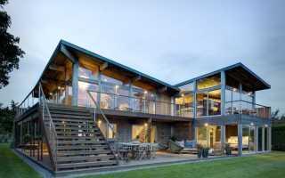 Дом с плоской крышей: фото реальных домов, лучшие проекты с фото