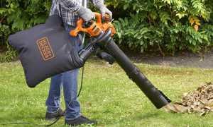 Выбираем садовый пылесос для сбора листьев электрический с измельчителем – фото + отзывы