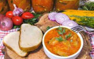Кабачки в томате на зиму, обалденный рецепт с фото, пальчики оближешь