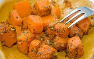 Жареная тыква со специями: пикантное блюдо из простых продуктов