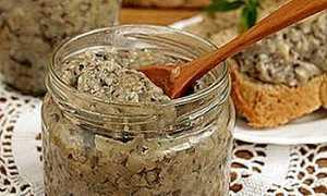 Икра из грибов из маслят на зиму: рецепты с видео, как сделать грибную икру