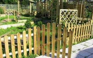 Декоративные ограждения для сада – удобство на многие годы + Видео