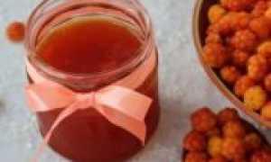 Варенье из морошки на зиму: простой рецепт с фото и видео