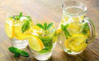 Вода с лимоном натощак польза и вред