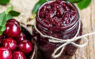 Варенья и джемы из вишен без косточек – 7 шикарных рецептов