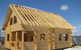 Как построить дом из бруса своими руками дешево и красиво (проекты, фото, видео)