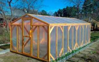 Как самостоятельно построить деревянную теплицу?