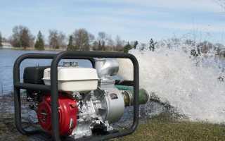 Варианты мотопомп для грязной воды