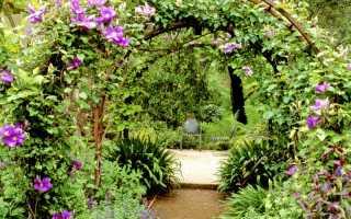 Арка садовая своими руками: пошаговая инструкция создания