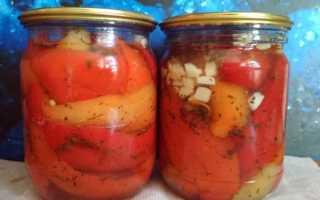 Болгарский перец целиком на зиму с чесноком — рецепт бесподобный