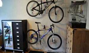Как правильно хранить велосипед в гараже зимой