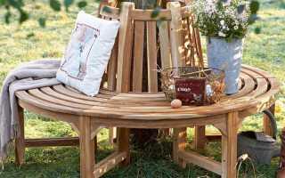 Как самостоятельно изготовить скамейку для дачи из подручных материалов