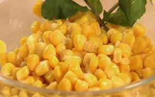 Как законсервировать кукурузу в домашних условиях