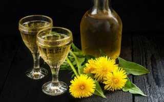Вино из цветков одуванчика