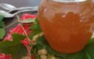 Джем из белой смородины: 2 простых пошаговых рецепта приготовления на зиму