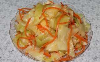 Вкусные рецепты из белокочанной капусты: квашеная, маринованная, по-корейски